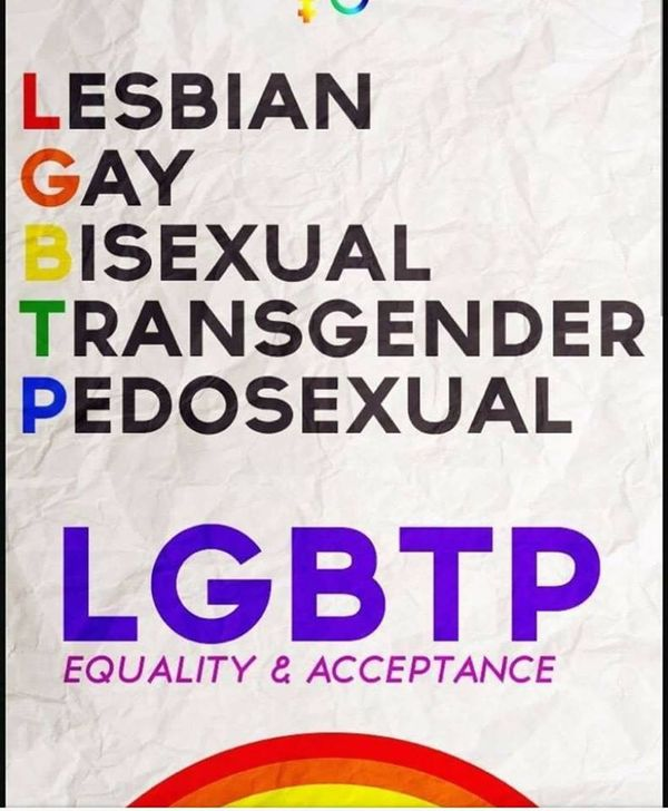 P= #Pedisexuals and Guess Who Might Be Picking Up the Minority Sex Group, LGBT.