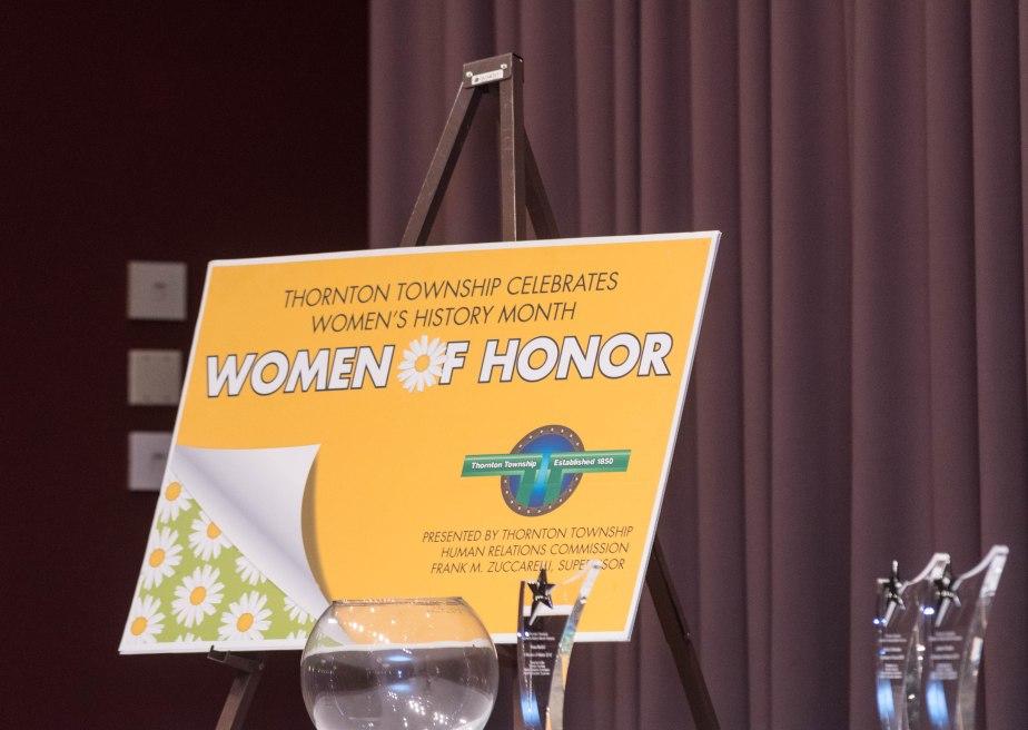 Women of Honor Celebration w/@ThorntonTwp