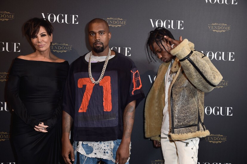 @KrisJenner Managing #KanyeWest @trvisxx #TravisScott 🤷🏾‍♀️ ,is it true or not?