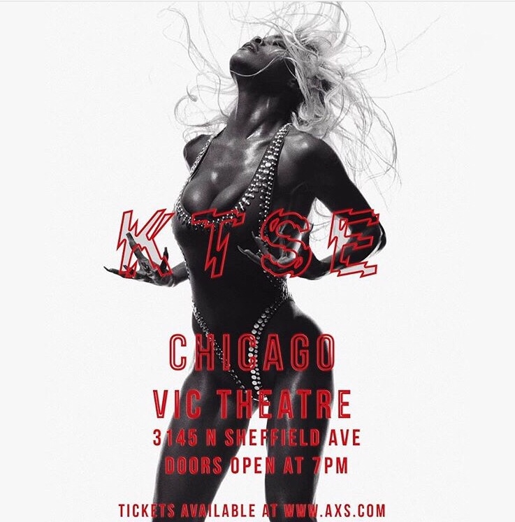 @TEYANATAYLOR Keep That Same Energy Tour with @DaniLeigh & Friends @ The Vic Theatre in Chicago#Dope #RealGangsterShit #KTSE