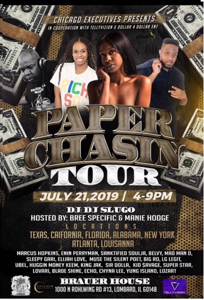 Paper Chasin Tour with @ChicagoExecutives & @BlueCheezGang